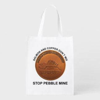 Stop Pebble Mine - Pebble Mine Penny Market Totes