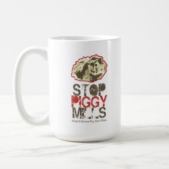 Stop Piggy Mills Mug - Guinea Pig Today