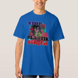 Stop plastik surgery shirt