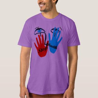 Stop plastik tee shirt