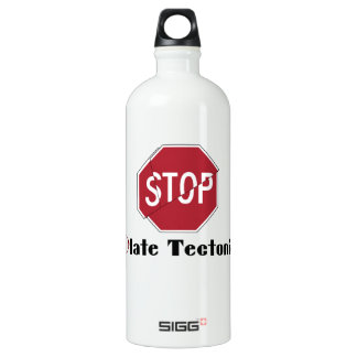 Stop Plate Tectonics SIGG Traveler 1.0L Water Bottle