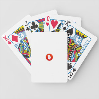 stop bicycle playing cards