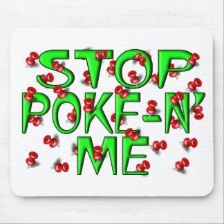Stop Poke-N' Me (Push Pins) Mouse Pad