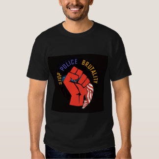 Stop Police Brutality (American Style) Tshirts