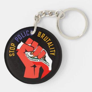 Stop Police Brutality Keychain