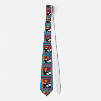 Stop Police Brutality, Occupy the Bronx Flyer 2012 Neck Tie