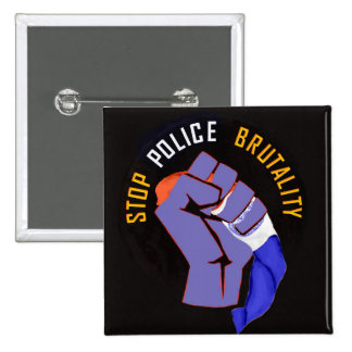 Stop Police Brutality (Occupy Wall St. Style) Pinback Button
