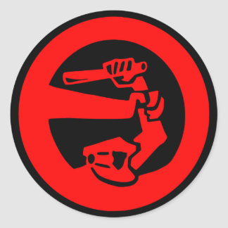 Stop Police Violence Classic Round Sticker
