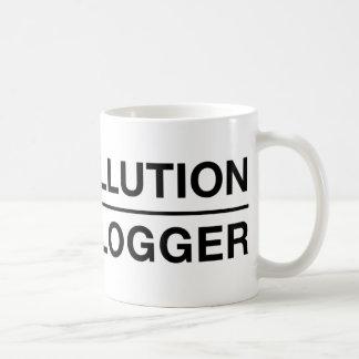 Stop Pollution: Kill a Blogger Coffee Mug