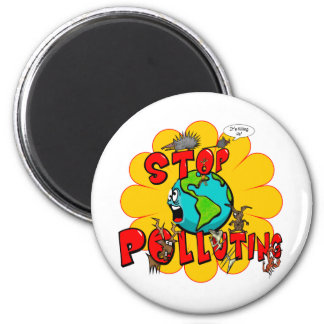 Stop Pollution Magnet
