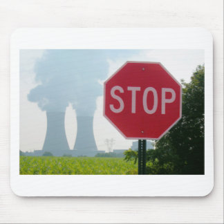 Stop Pollution Mouse Pad