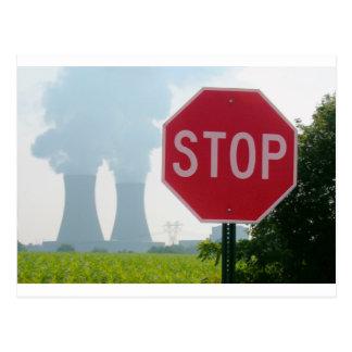 Stop Pollution Postcard