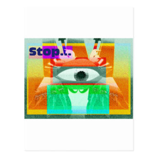 Stop! Postcard