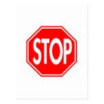 Stop Postcard