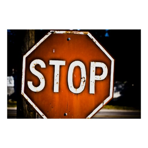 STOP! Poster