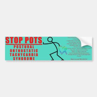 Stop POTS - Bumper Sticker