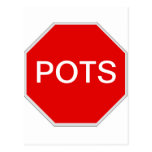 Stop POTS Post Cards