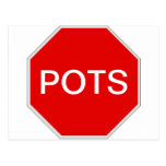 Stop POTS Postcard
