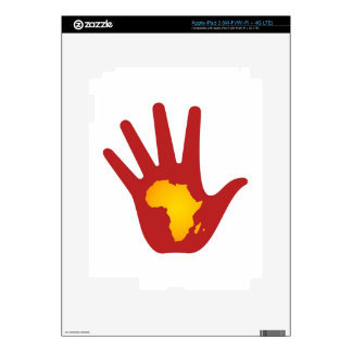 Stop Poverty Skin For iPad 3