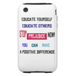 Stop Prejudice iPhone 3G Case