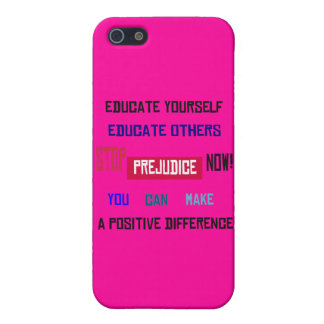 Stop Prejudice iPhone Case