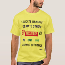Stop Prejudice Light T-Shirt