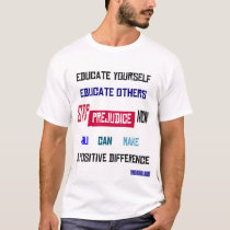 Stop Prejudice Now Plus Size T-Shirt