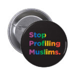 Stop Profiling Muslims Rainbow Button