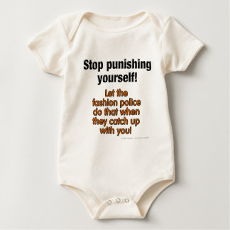 Let The Fashion Police Baby Bodysuit