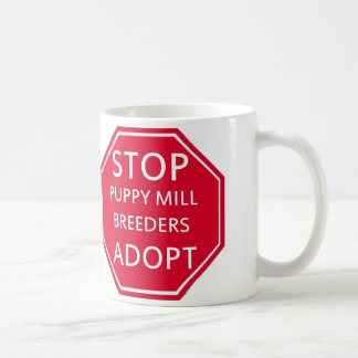STOP Puppy Mill Breeders Animal Rescue Mug