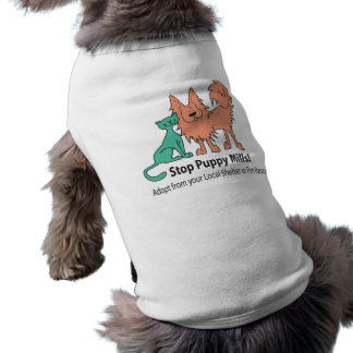 stop puppy mill logo dog T Tee