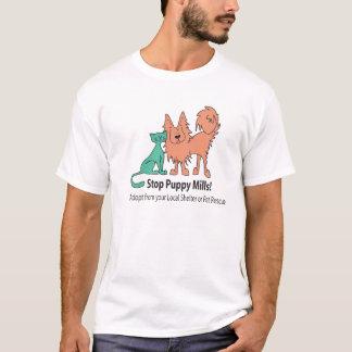 stop puppy mill logo T-Shirt