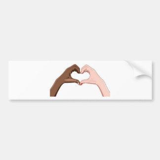 Stop Racism Bumper Sticker