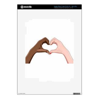 Stop Racism iPad 3 Skin