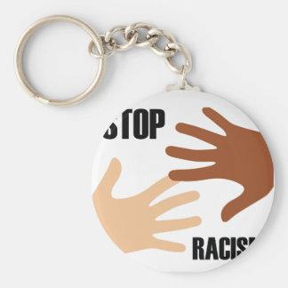 Stop Racism Keychain