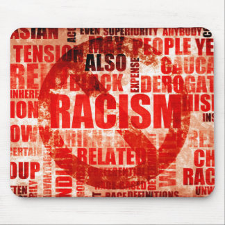Stop Racism Mouse Pad