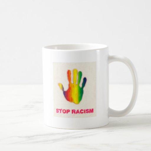 stop racism mug