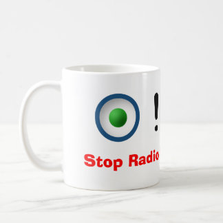 Stop Radio Button Abuse! Coffee Mug