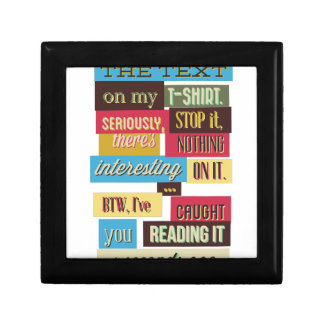 stop reading the texts, cool fresh design gift box