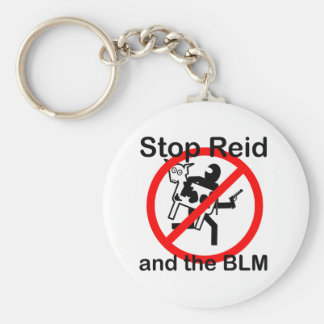 Stop Reid and the BLM Keychain