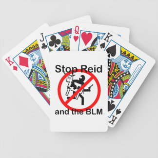 Stop Reid and the BLM Card Decks