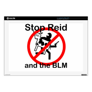 Stop Reid and the BLM Skin For Laptop