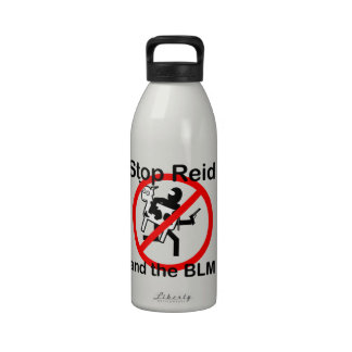 Stop Reid and the BLM Water Bottle