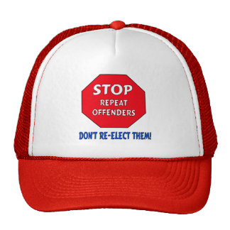 Stop Repeat Offenders Hats