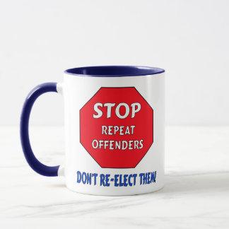 Stop Repeat Offenders Mug