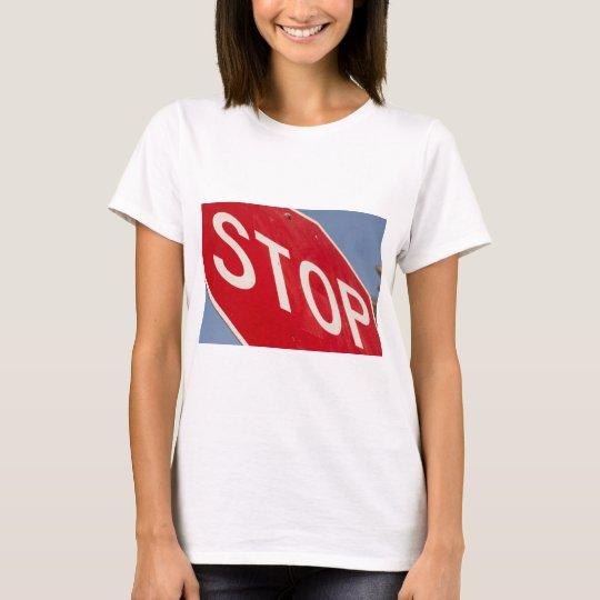 Stop - Retro Perspective T-Shirt
