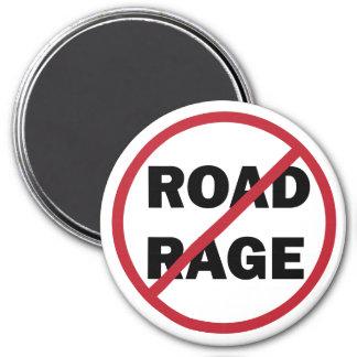Stop Road Rage 3 Inch Round Magnet