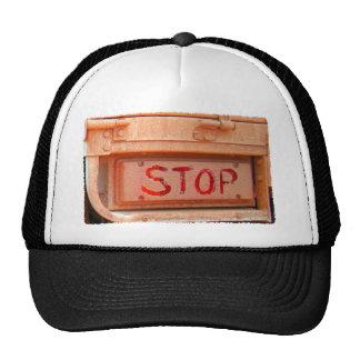 Stop rustic ute tailgate tail light trucker hat