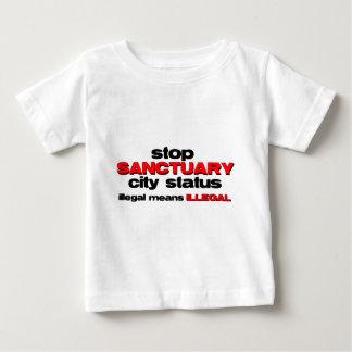 stop sanctuary city status baby T-Shirt