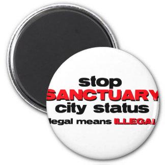 stop sanctuary city status magnet